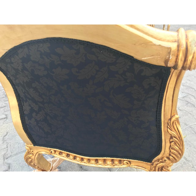French French Louis XVI Style Settee For Sale - Image 3 of 12