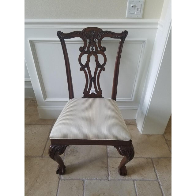 Ethan Allen Chauncey Dining Chairs - Set of 6 - Image 11 of 11
