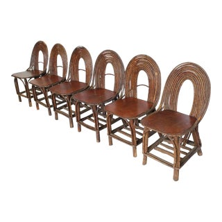 Mid 20th C. Vintage Adirondack Chairs- Set of 6 For Sale