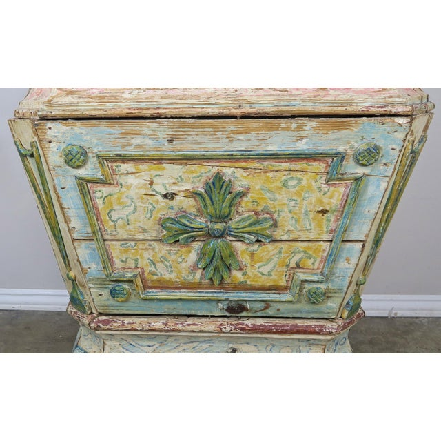 19th Century Italian Painted Altar Table For Sale - Image 4 of 10