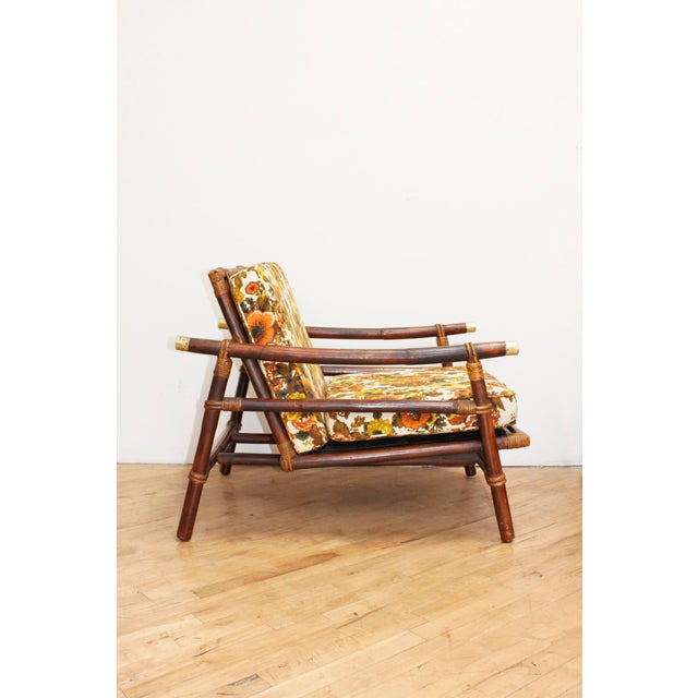 John Wisner Authentic Signed Ficks Reed Rattan Campaign Chair- 1954 For Sale - Image 4 of 13