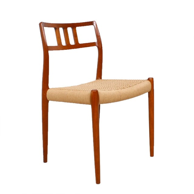 Danish Modern Teak Niels Moller #79 Chairs - S/6 - Image 2 of 7