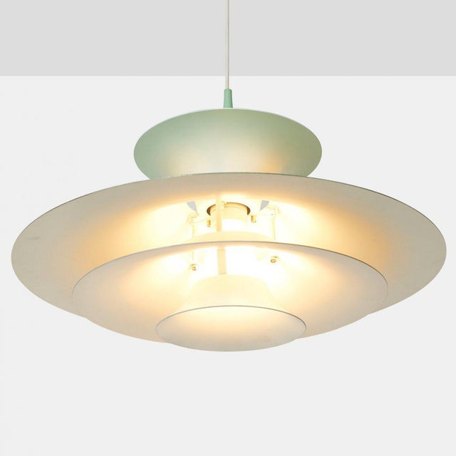 1960s Eric Balslev Pendant Lamp For Sale - Image 5 of 6
