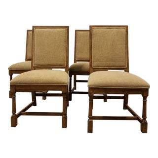 Modern Exeter Jacobean Side Chairs - Set of 4 For Sale