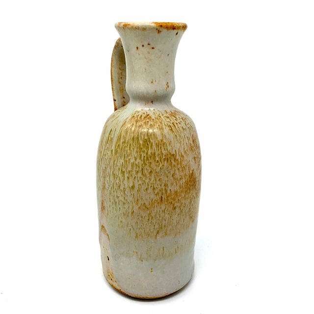 Mid 20th Century Studio Pottery Pitcher For Sale - Image 4 of 11