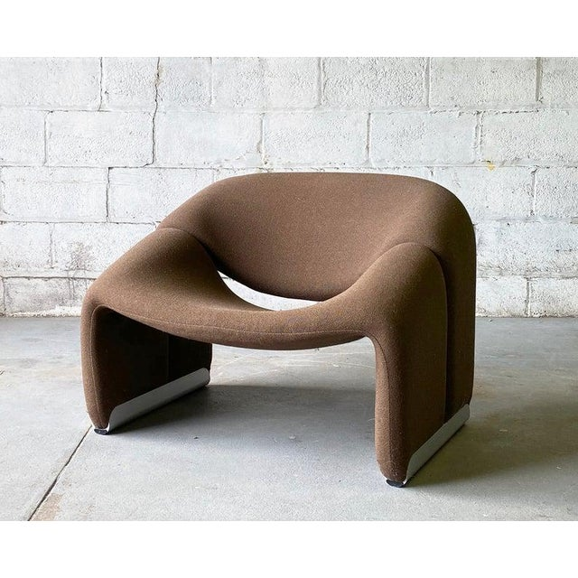 "Mid Century Modern ""Groovy"" Armchair by Pierre Paulin for Artifort, Holland For Sale - Image 11 of 11"