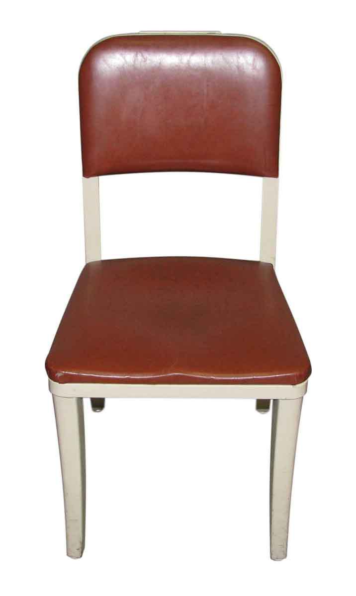 art deco office chairs. burgundy seat metal office chair art deco chairs