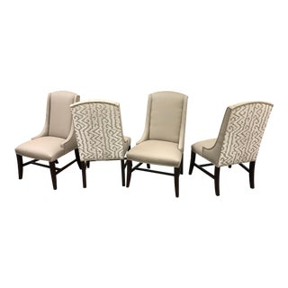 Bernhardt Upholstered Dining Chairs - Set of 4 For Sale