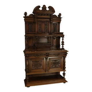 Server Sideboard Renaissance Antique French 1890 For Sale