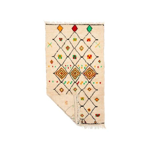 Vintage Azilal Handwoven Rug - 4′5″ × 8′ - Image 2 of 2