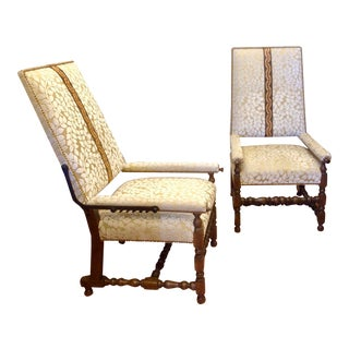 Pair of Reclining Plantation Chairs For Sale