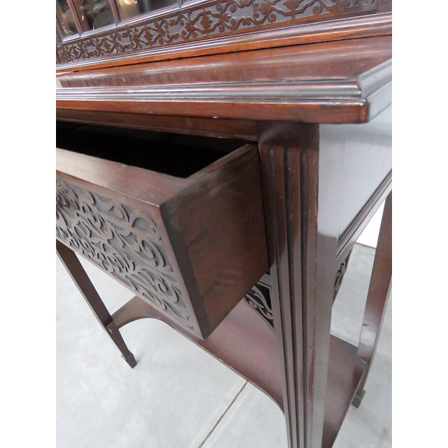 19thC Georgian Collectors Cabinet For Sale - Image 9 of 12