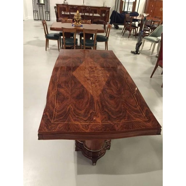 Jules Leleu Style French Art Deco Dining Table