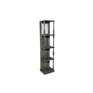 Shabby Chic Garrin Wooden Bookcase For Sale