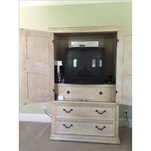 Shabby Chic Henredon Armoire - Image 3 of 3