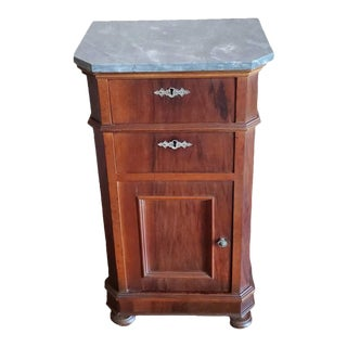 19th Century French Louis Philippe Period Bedside Table For Sale