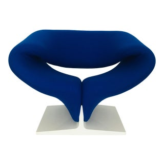 1960s Vintage Pierre Paulin for Artifort Space Age Ribbon Lounge Chair For Sale