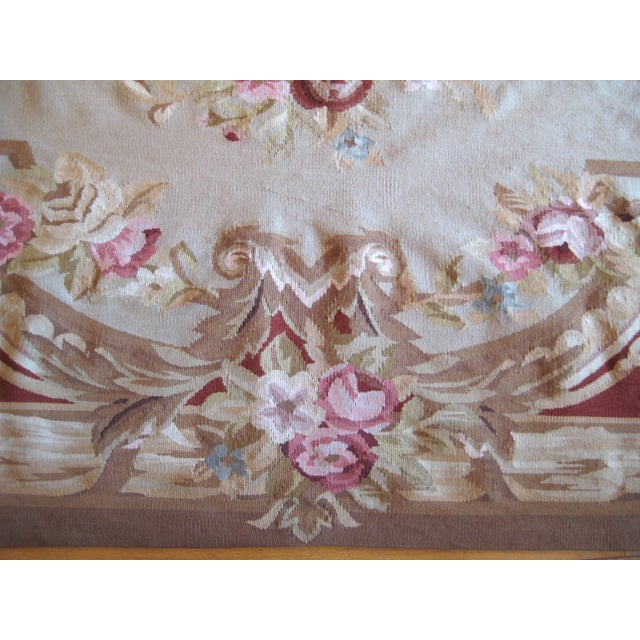 "French Aubusson Rug - 8' x 10"" - Image 8 of 9"