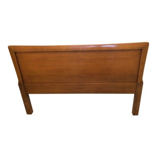 1960s Henredon Walnut Full Headboard For Sale