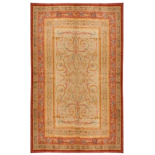 Antique Oversize 19th Century French Savonnerie Carpet For Sale