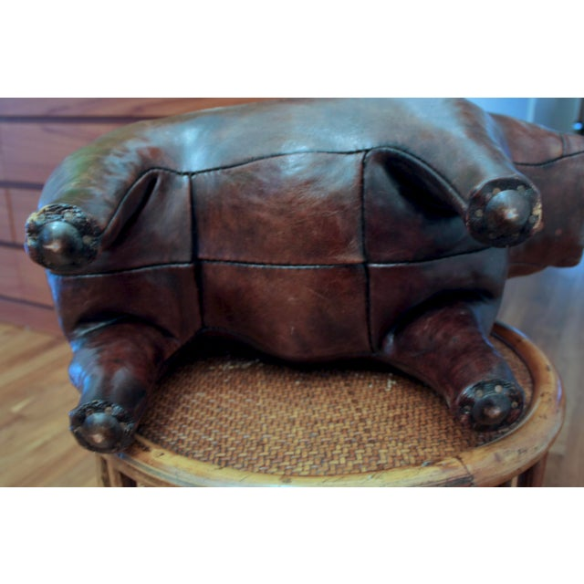 Abercrombie and Fitch Dimitri Omersa Leather Bulldog For Sale - Image 10 of 12