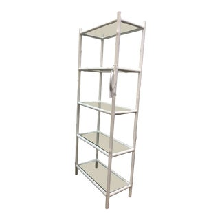 Contemporary 5 Shelf Arbor Etagere For Sale