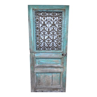 18th Century French Oak Chateau Door For Sale