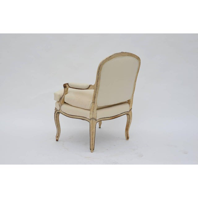 Late 19th Century Exceptional Late 19th Century Louis XV Style Armchair For Sale - Image 5 of 10