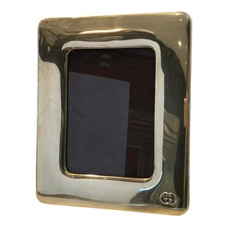 Gucci Brass Photo Frame For Sale