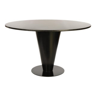 Joe D'Urso for Bieffeplast Granite and Conical Steel Dining Table