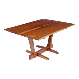George Nakashima Conoid Dining Table, Black Walnut and Rosewood, Usa, 1975