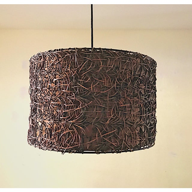 Naturo Rattan Chandelier - Image 2 of 5
