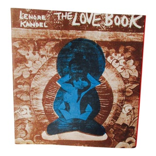 "Lenore Kandel ""The Love Book"" 1st Edition SF Hippie Culture Book For Sale"