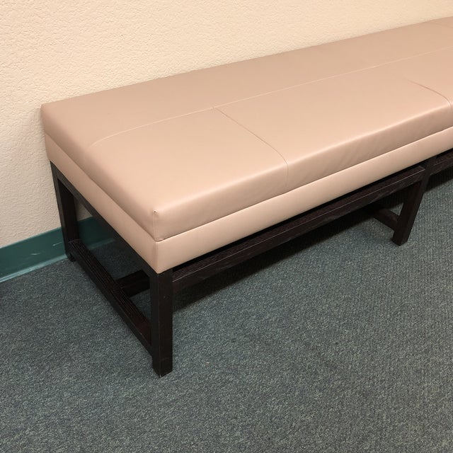 Room & Board Upholstered Bench - Image 3 of 8