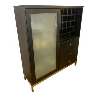 Room & Board Linear Custom Cabinet For Sale