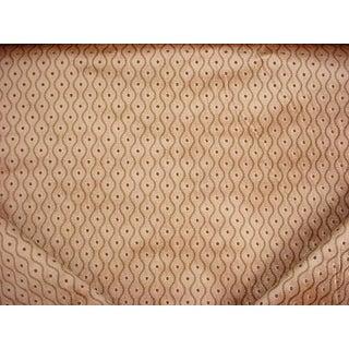 Mid-Century Modern Kravet Couture 29870 Successive Lattice Trellis Velvet Upholstery Fabric - 10-1/2y For Sale