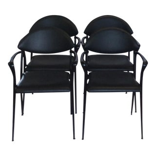 Design Luigi Origlia Coro Dining Chairs - Set of 4