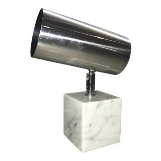 1960s Vintage Koch & Lowy Carrera Marble Base Table Lamp For Sale