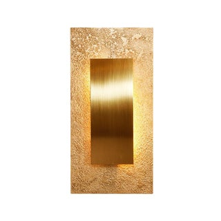 Or Golden Wall Light by Christine Rouviere For Sale