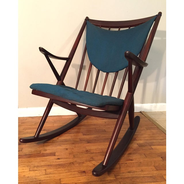 Bramin Mobler Frank Reenskaug Rocking Chair - Image 4 of 11