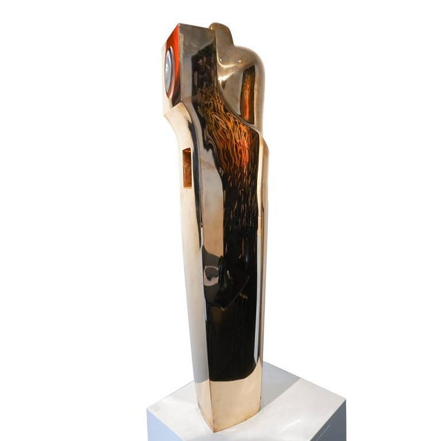 Modern Bronze Sculpture by Émile Gilioli, Apparition Architecturale For Sale - Image 4 of 6