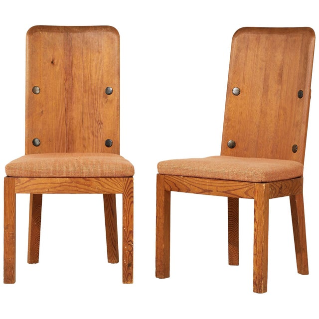 1930s 1930s Vintage Axel Einar Hjorth Lovo Chairs- a Pair For Sale - Image 5 of 5