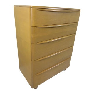 Heywood Wakefield Encore Chest of Drawers in Champagne Finish
