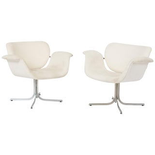 """Pierre Paulin """"Big Tulip Lounge Chairs"""", 1960s For Sale"""