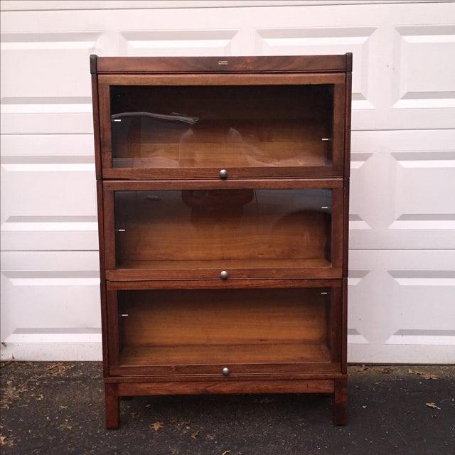 Vintage Lundstrom Barrister Bookcase