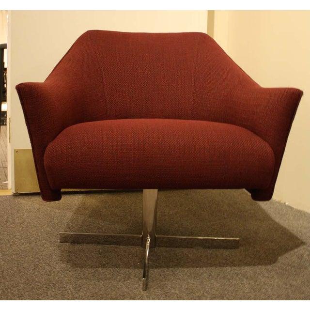 nathan anthony imagin swivel armchair chairish