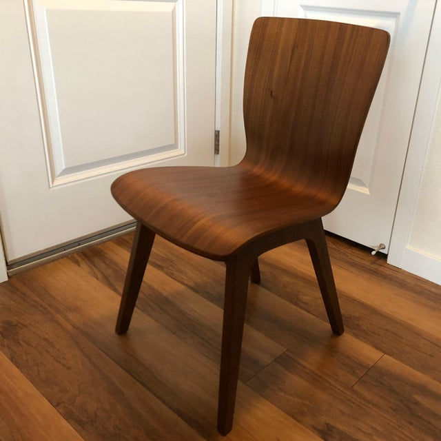 West Elm West Elm Crest Bentwood Dining Chair For Sale - Image 4 of 4