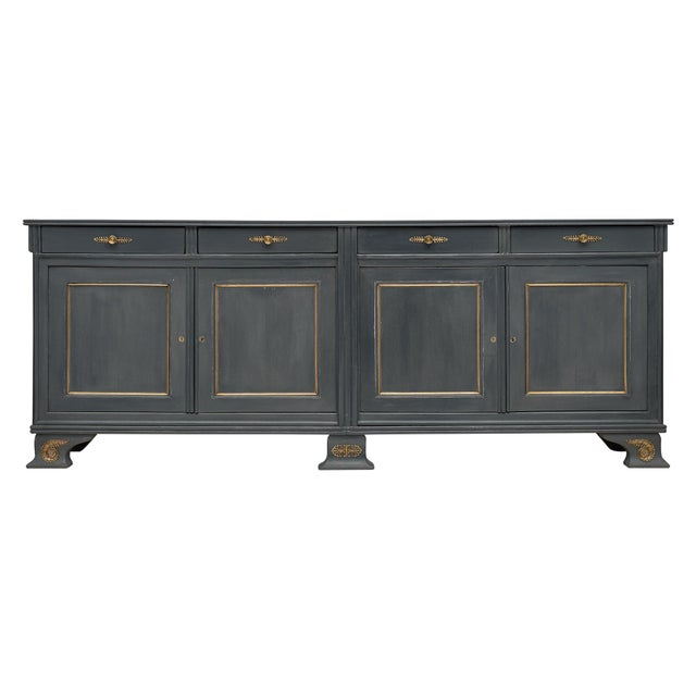 Louis Philippe Antique French Buffet For Sale - Image 10 of 10
