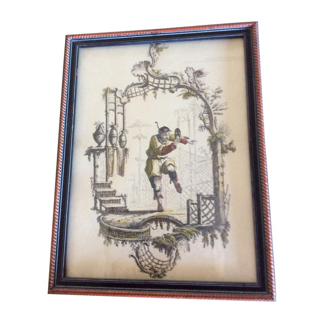 Vintage Borghese Chinese Print - Image 1 of 4