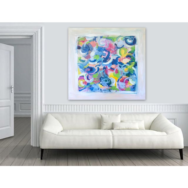 'LiFE GOES ON' original abstract painting - Image 5 of 7
